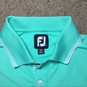 FootJoy Golf Polo Light Green Size Small